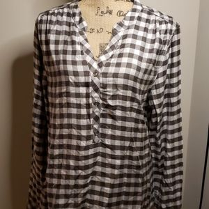 NWOT Michael Stars checkered top